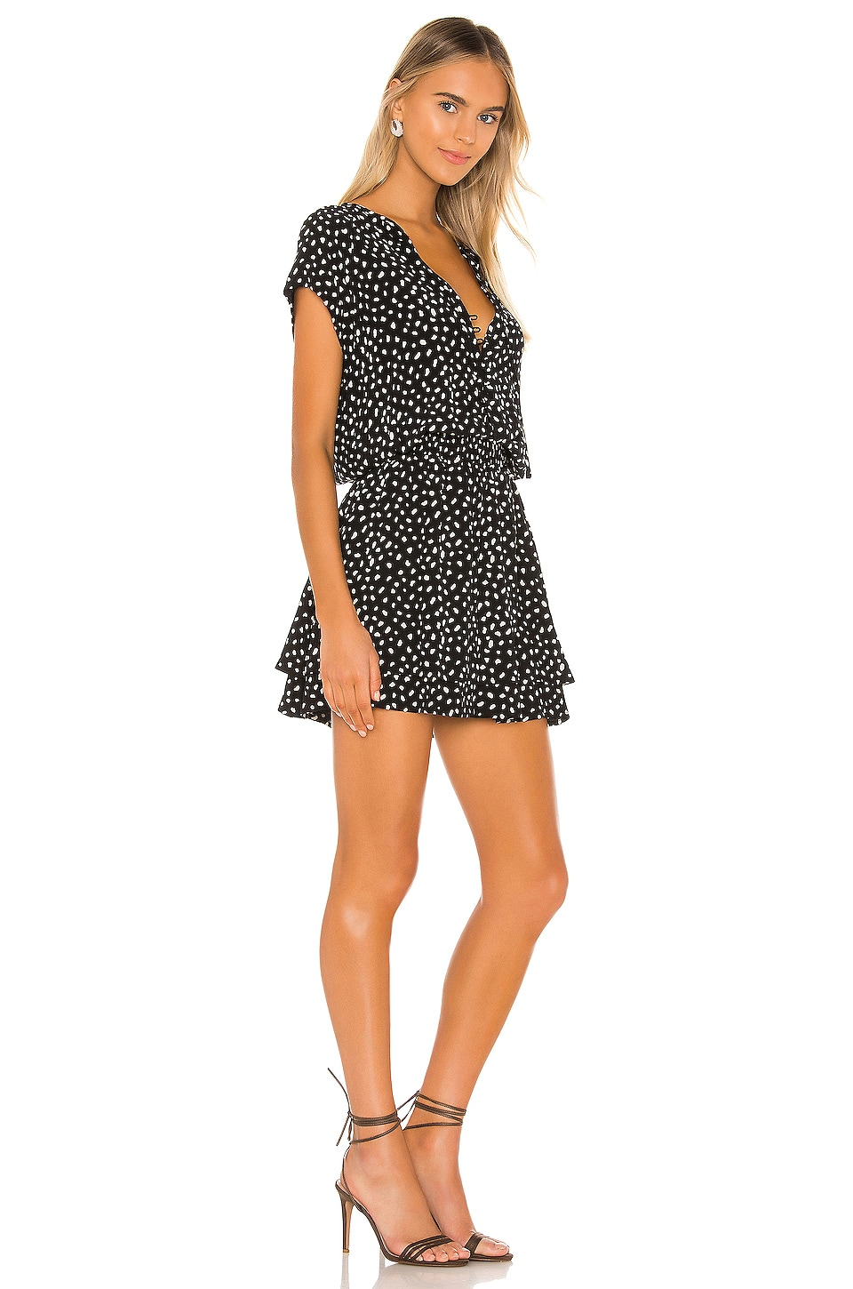 Karla Mini Dress, view 2, click to view large image.