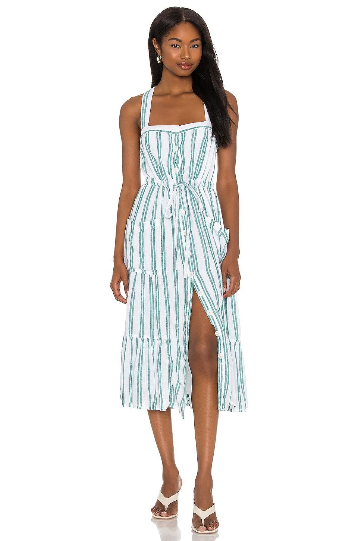 Rails Cassia Dress in Ivy Stripe