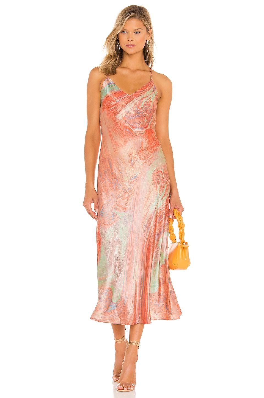 Rails Kaiden Dress in Pastel Marble