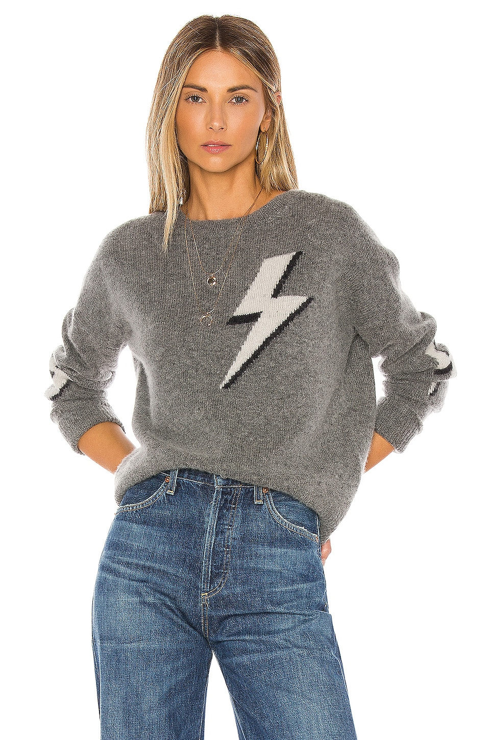 Rails Virgo Cashmere Blend Sweater in Bolted