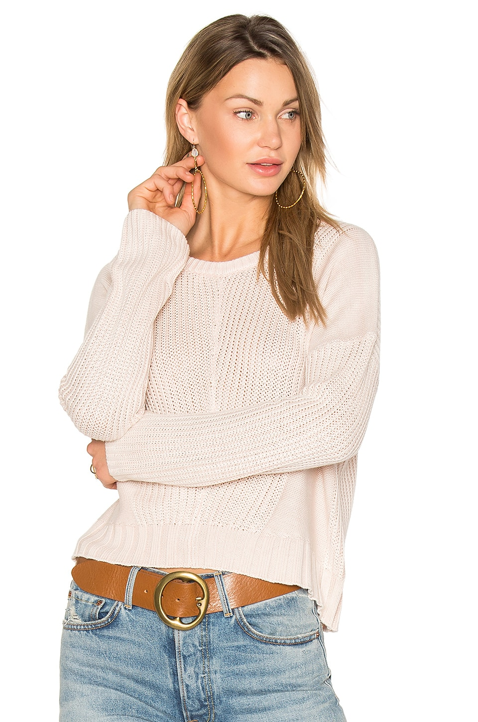 Rails Elsa Sweater in Blush