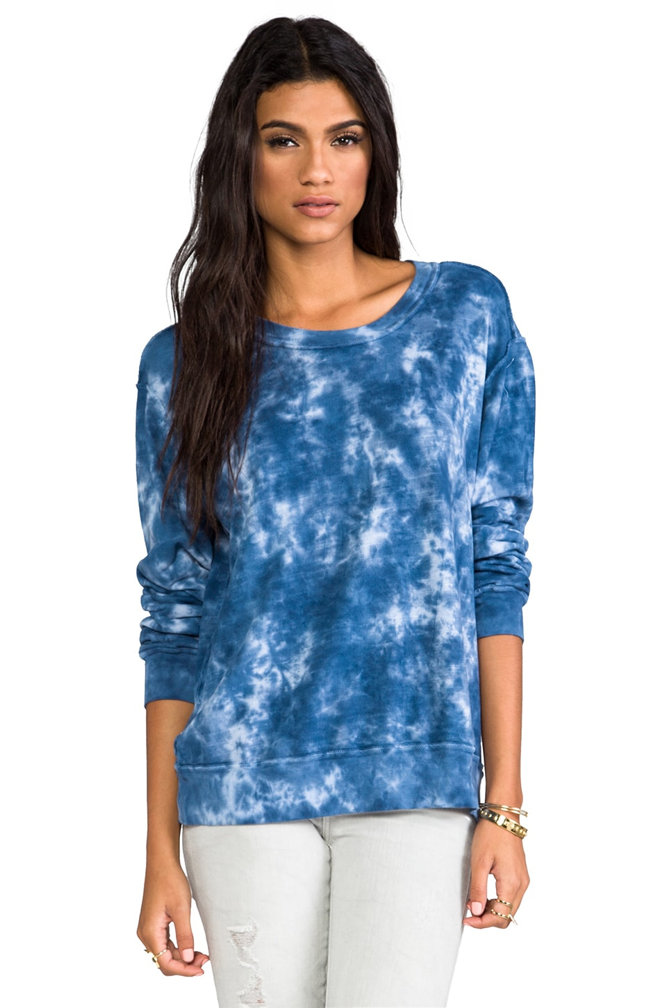 Rails Mikey Cloud Wash Sweatshirt in Blue