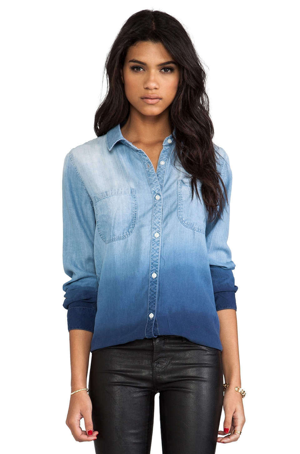 Rails Carter Denim Button Down in Lt. Blue