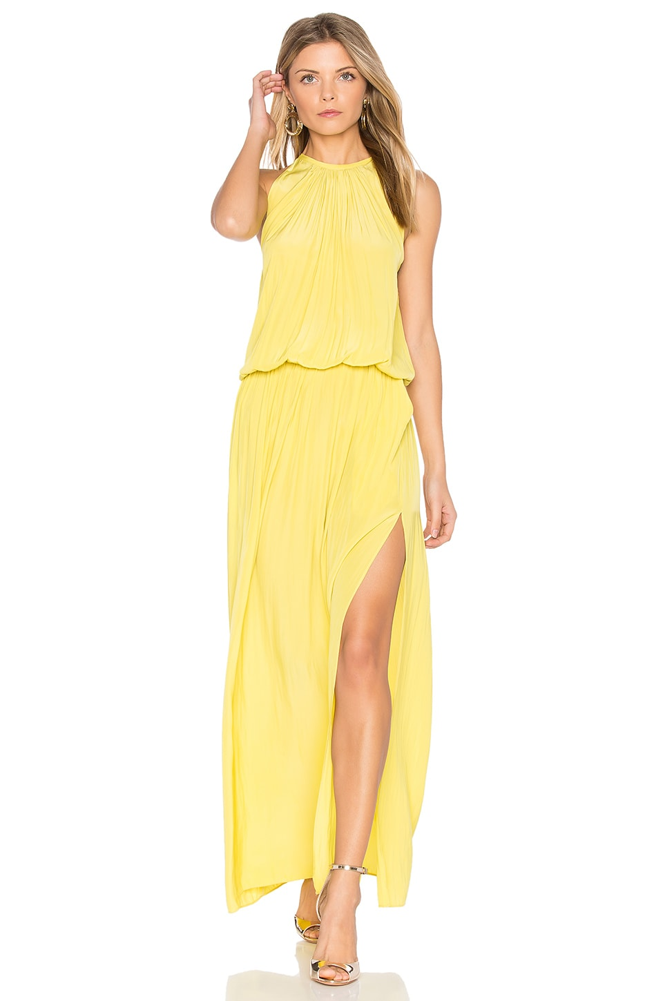 RAMY BROOK Delaney Maxi in Sunburst Yellow