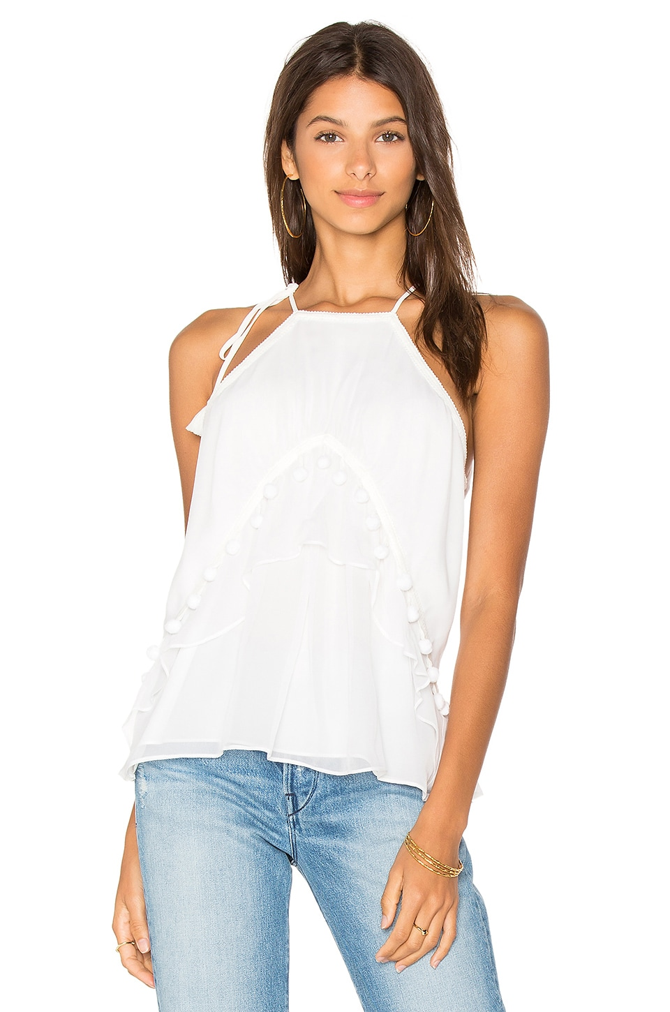 RAMY BROOK Victoria Tank in Soft White