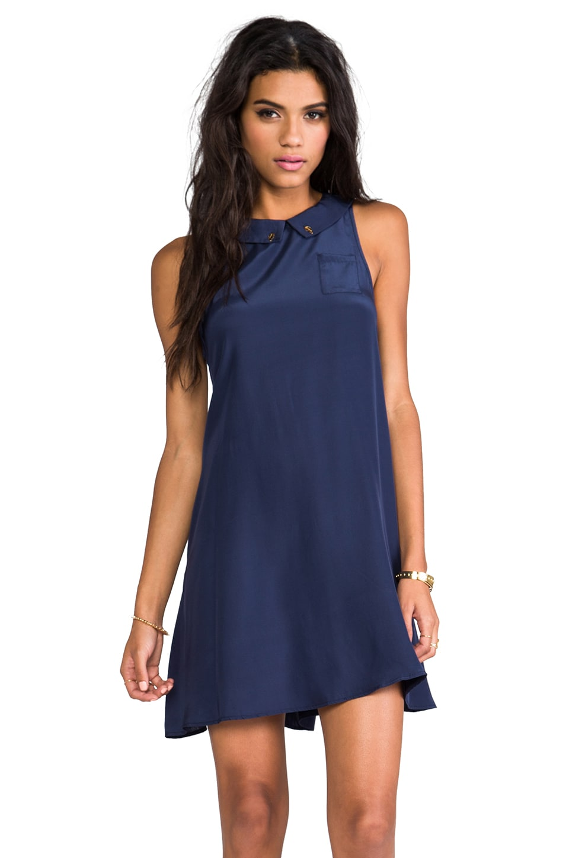 Rachel Antonoff Lili Sleeveless Dress in Midnight