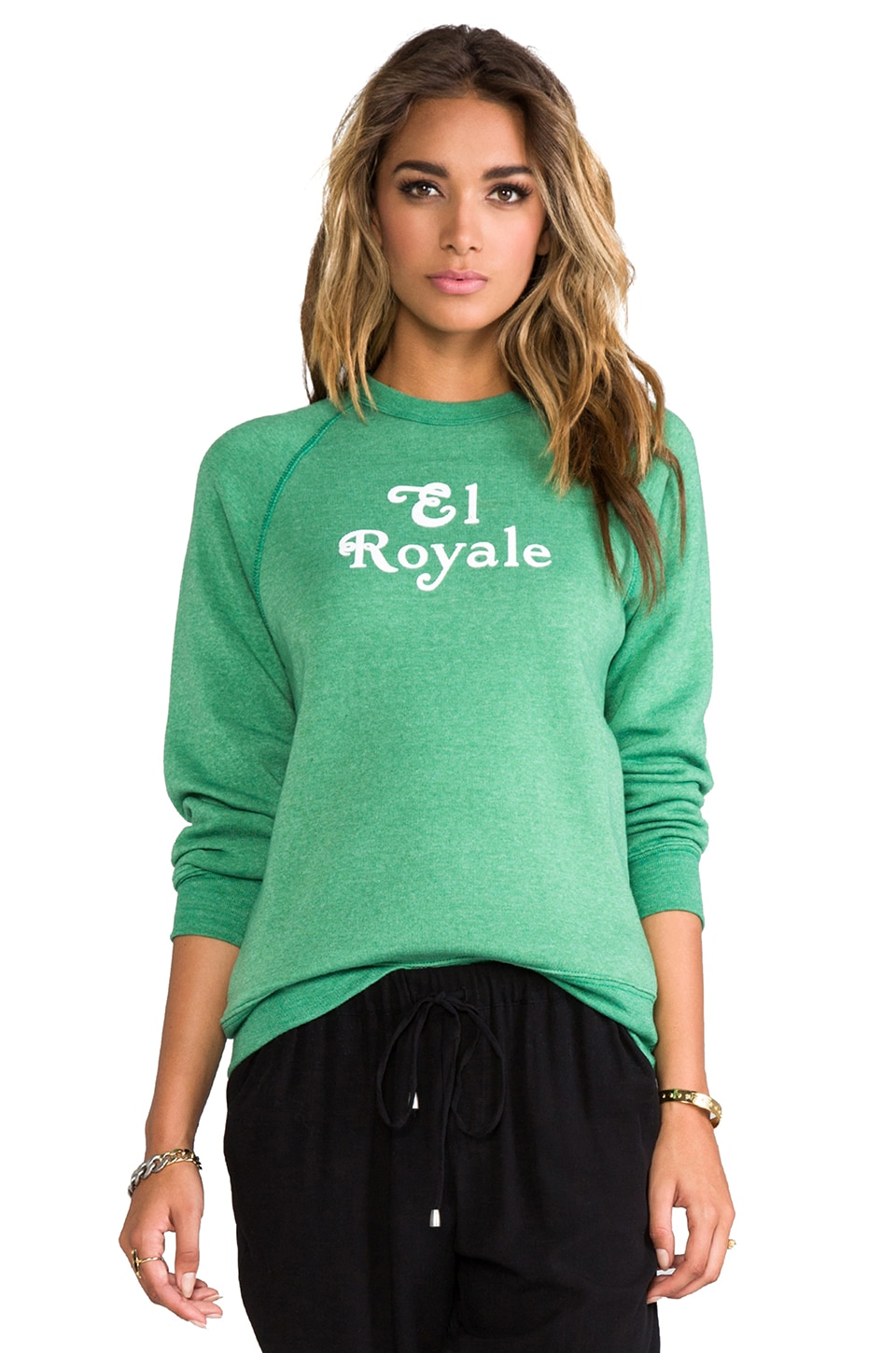 Rachel Antonoff El Royal Sweatshirt in Green