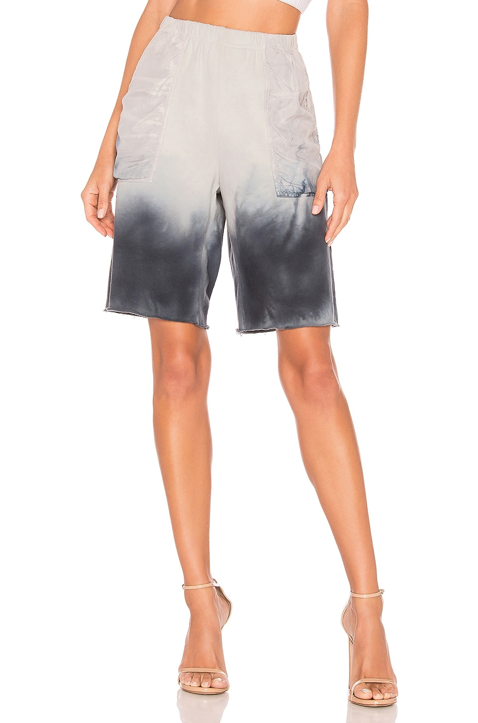 Raquel Allegra Short in Wind Tie Dye