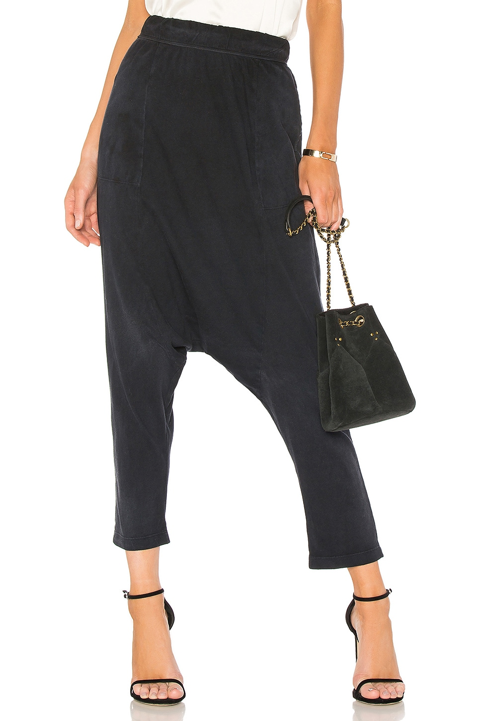 Cropped Slouchy Pant