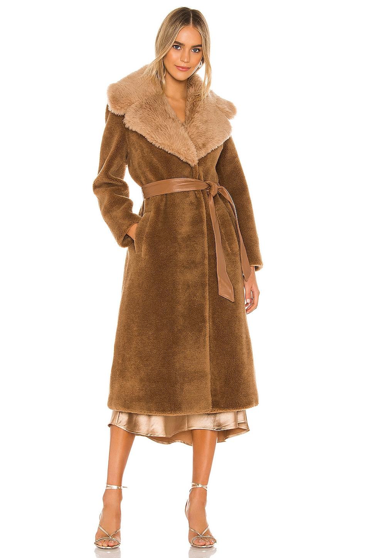 RAVN Love Coat in Light Brown