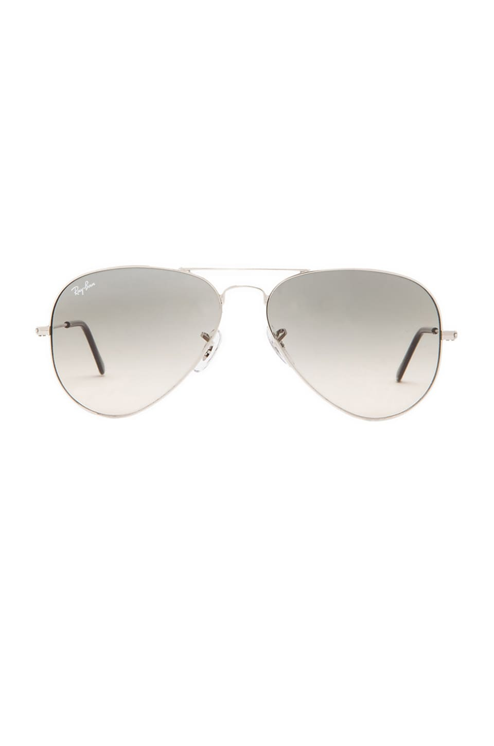 Ray-Ban Aviator Gradient in Light Grey Gradient