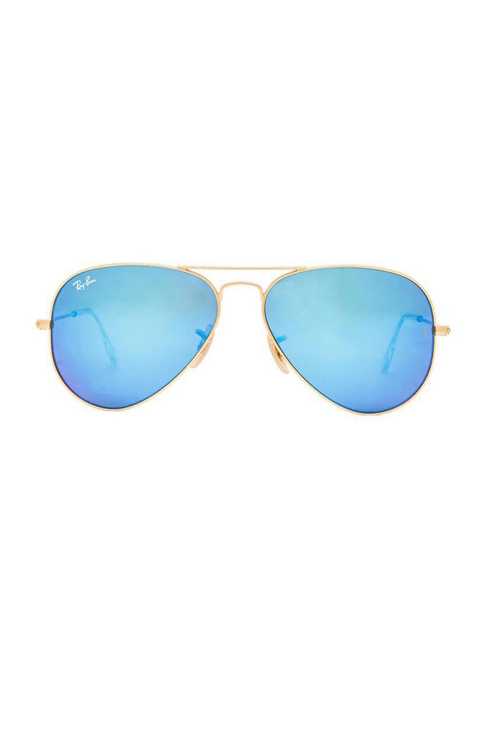 Ray-Ban Aviator Flash in Blue Flash