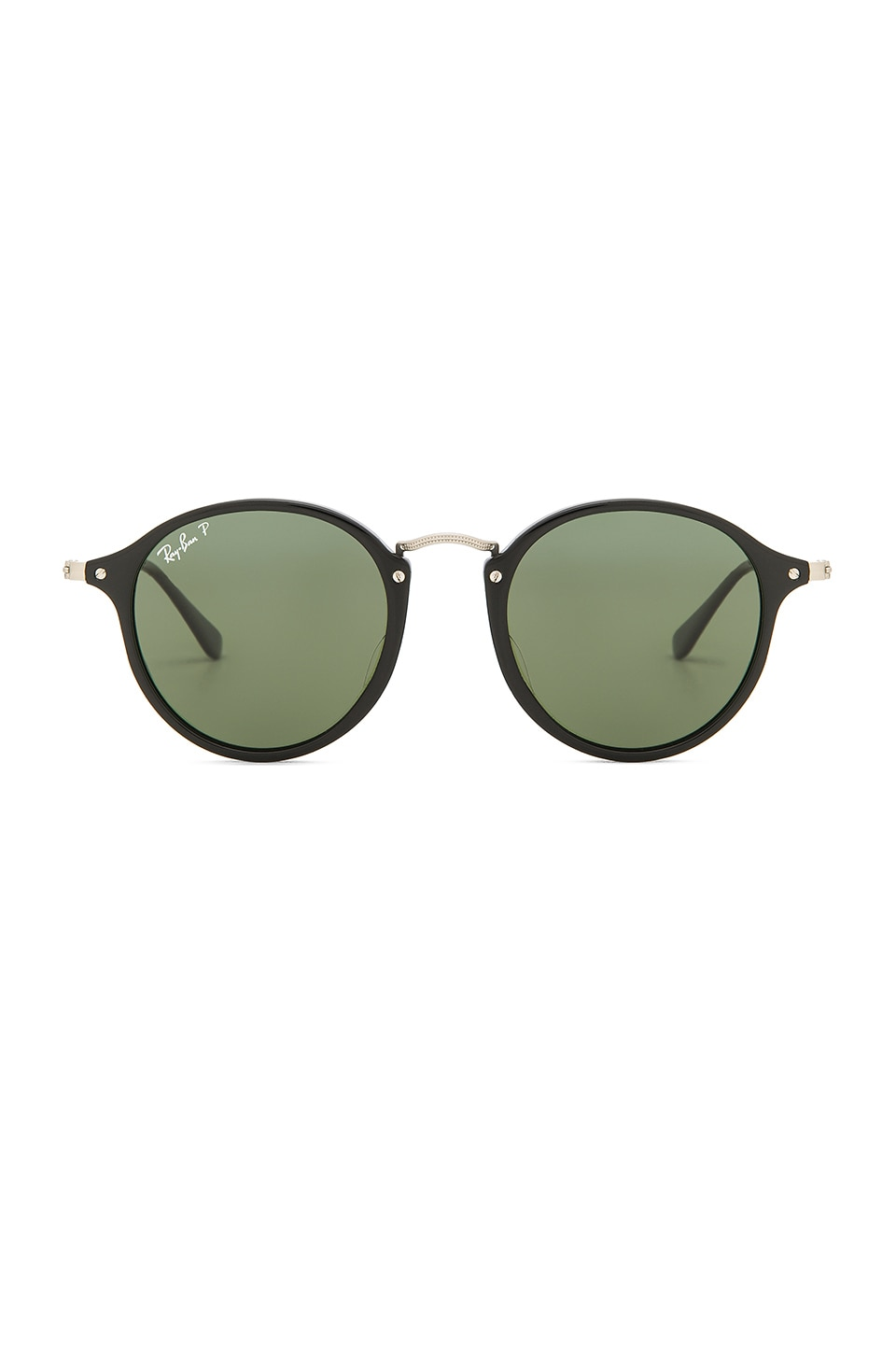 Ray-Ban Round Fleck in Black