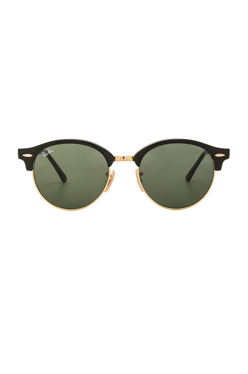 Ray-Ban Clubround Classic in Black