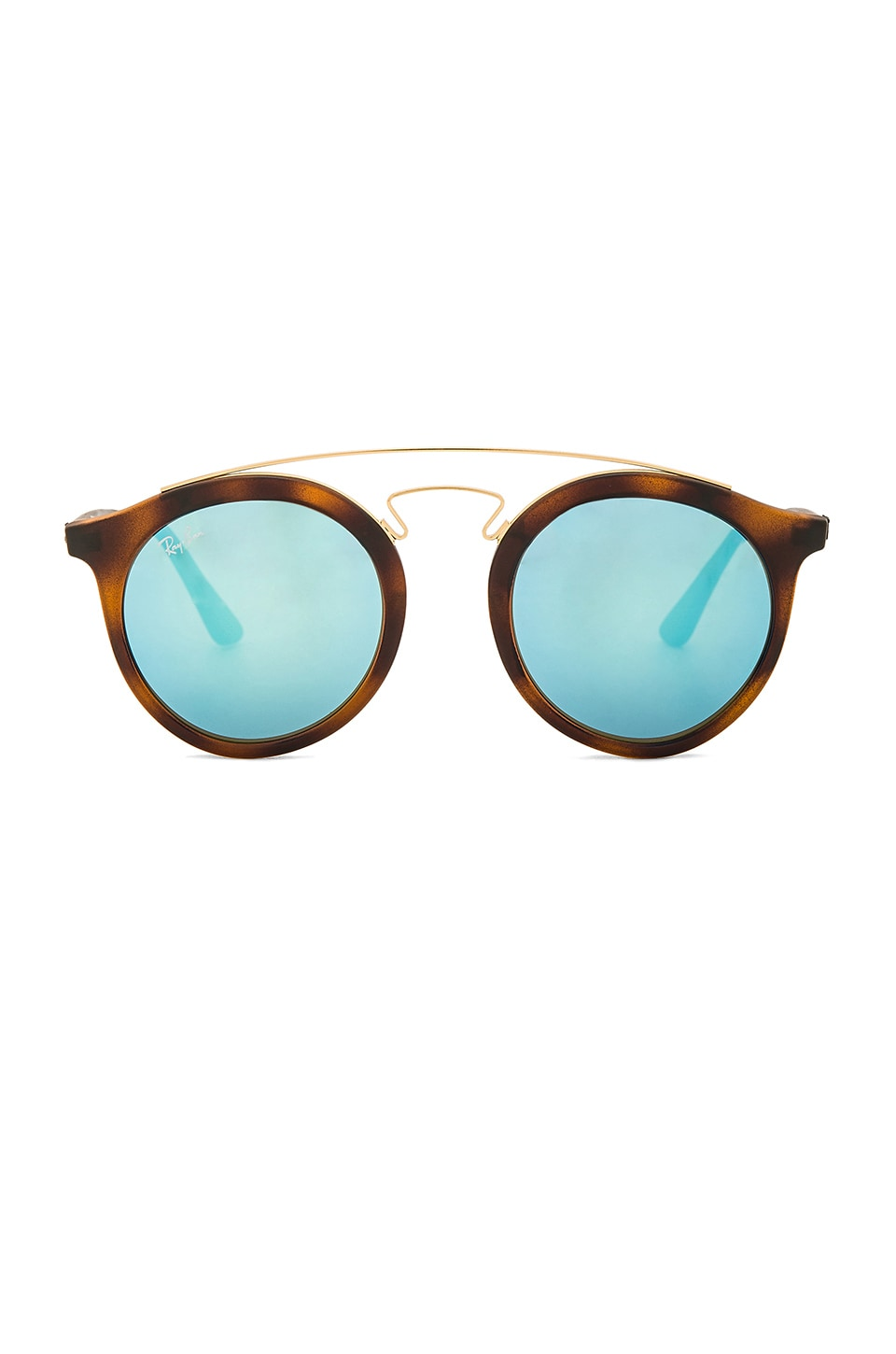 8e2f090b65 Ray-Ban Gatsby I in Tortoise   Blue Mirror