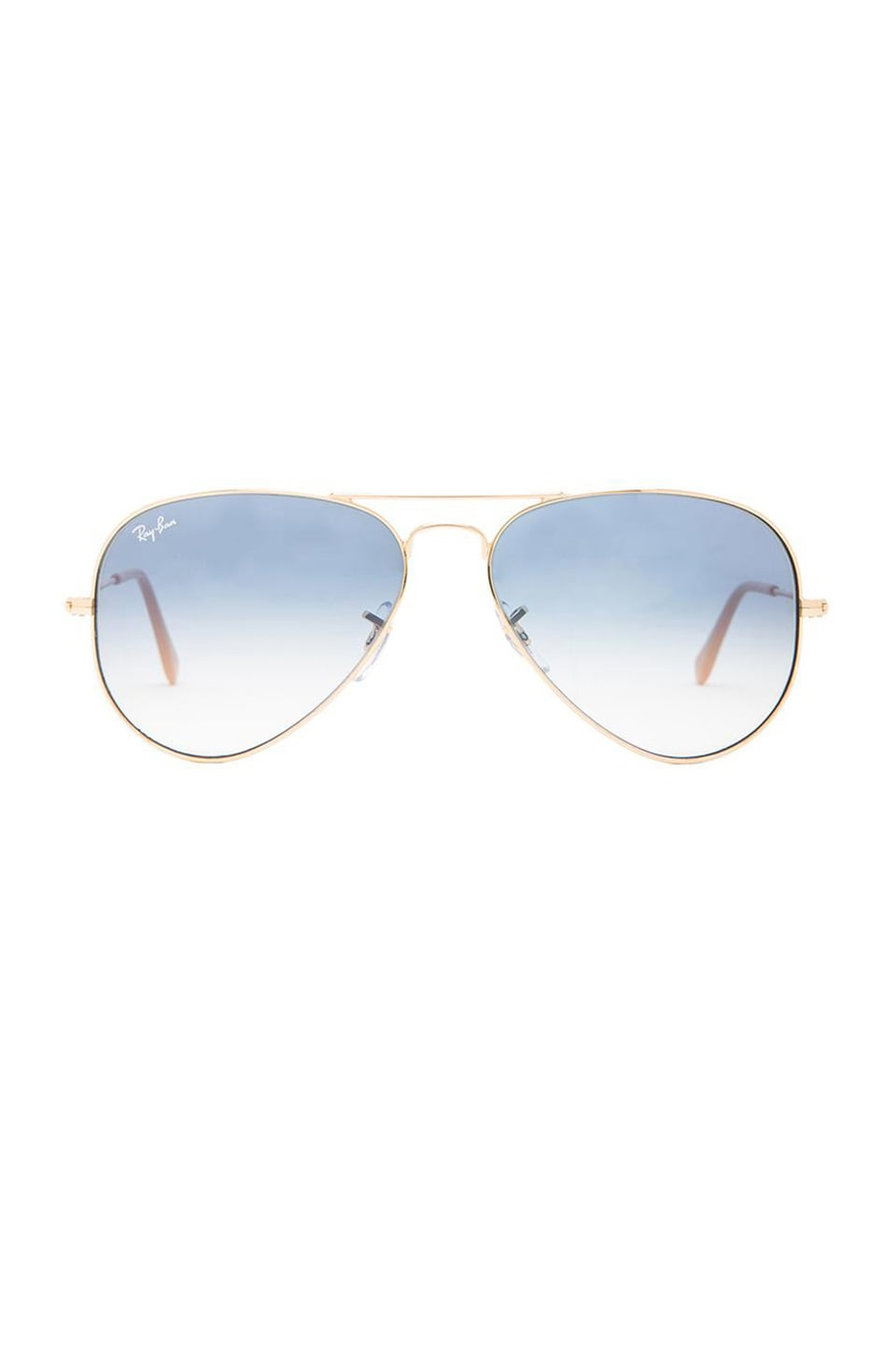 Ray-Ban Aviator in Arista and Gradient Light Blue