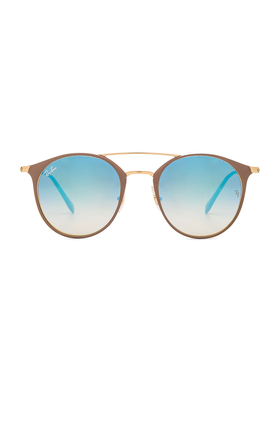 Ray-Ban RB3546 in Gold Top Beige