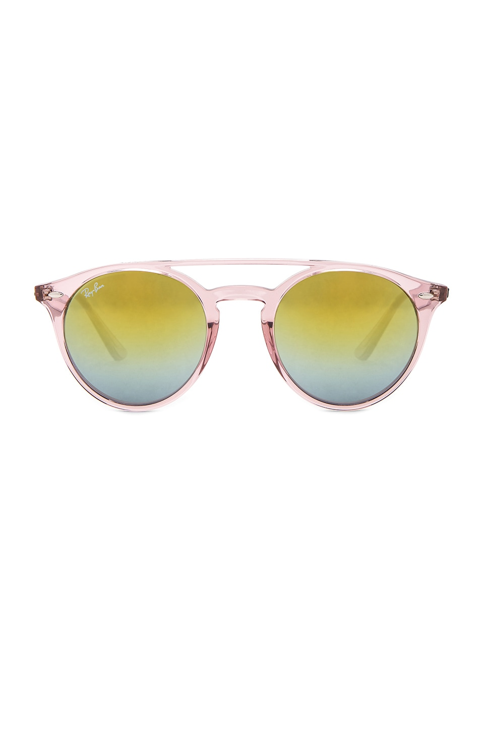 Ray-Ban 0RB4279 in Pink & Green Gradient Mirror
