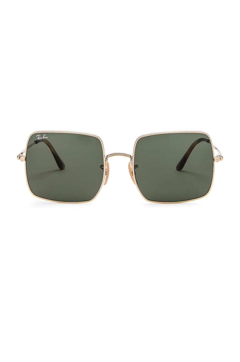 Ray-Ban Square Evolve in Green & Gold