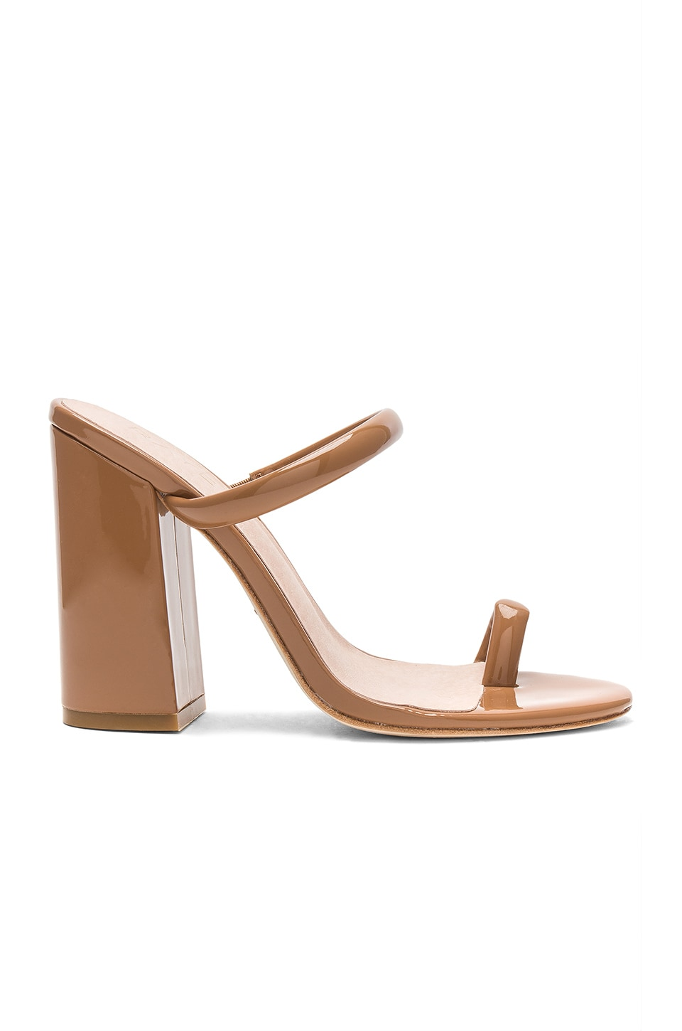 RAYE Brindis Heel in Dark Tan