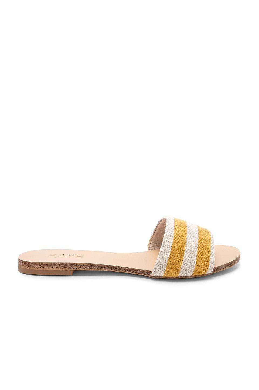 RAYE Palm Sandal in Yellow