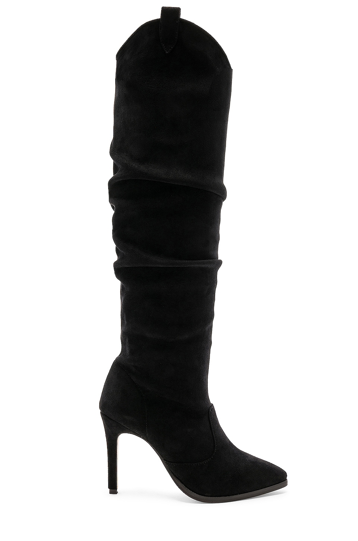 RAYE x STONE_COLD_FOX Austin Boot in Black