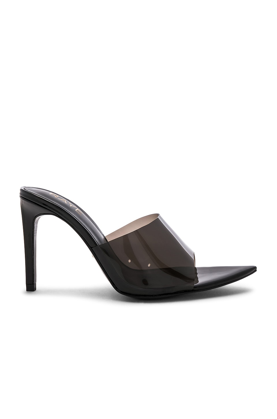 RAYE Oliver Heel in Black