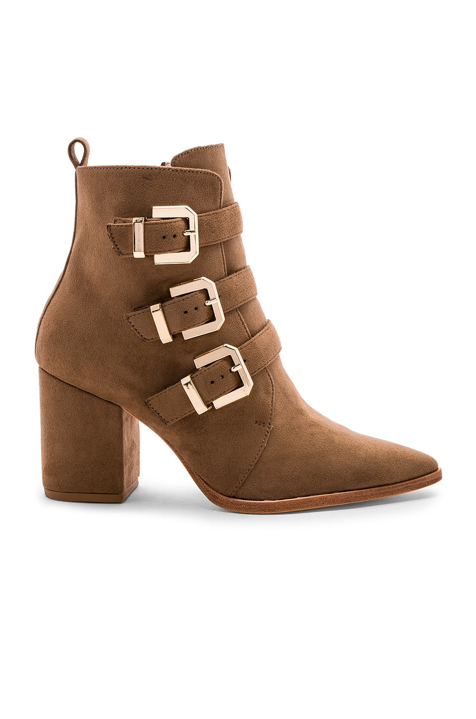 RAYE x House Of Harlow 1960 Doute Boot in Taupe Brown
