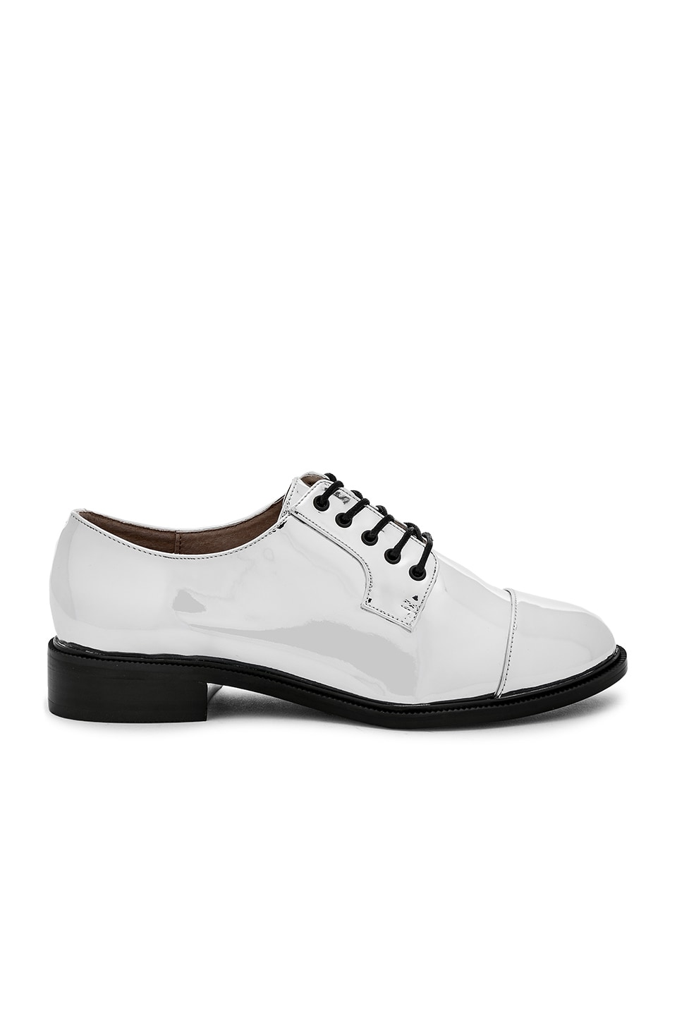 RAYE x House Of Harlow 1960 Kane Oxford in Silver