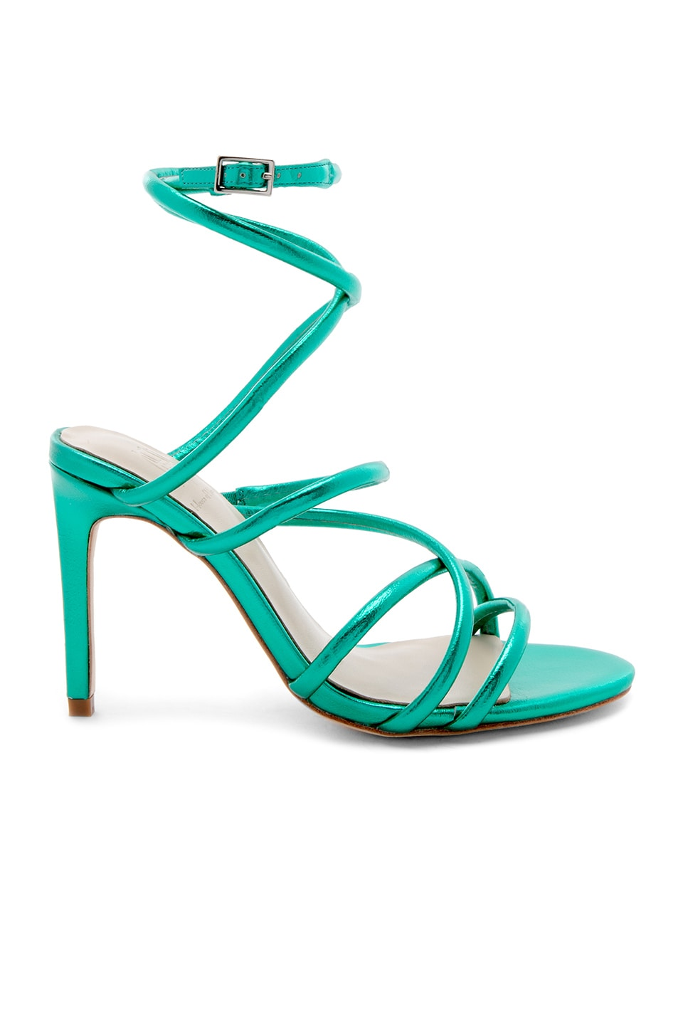 RAYE x House Of Harlow 1960 Vigo Heel in Green