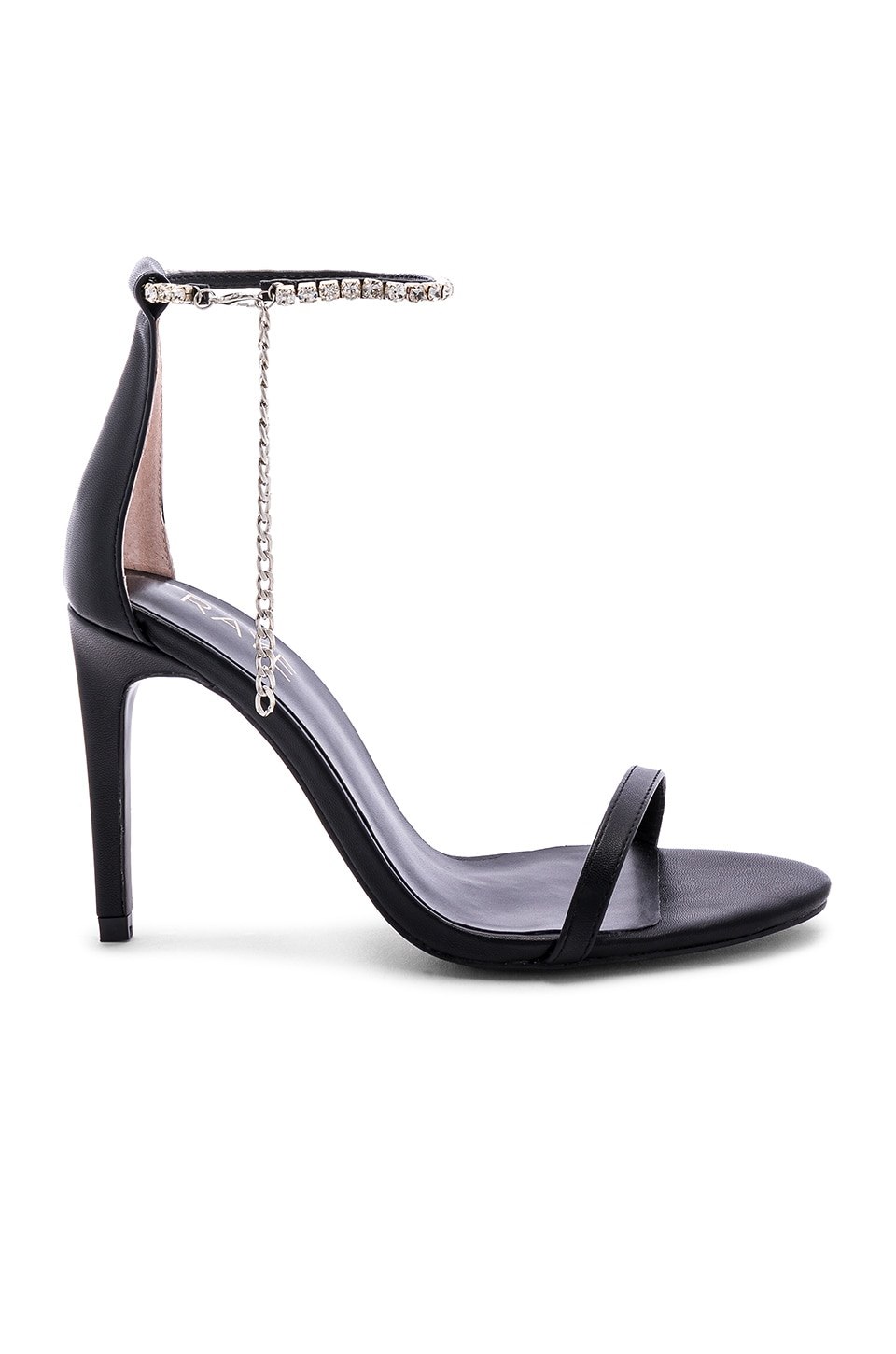 RAYE Nissa Heel in Black