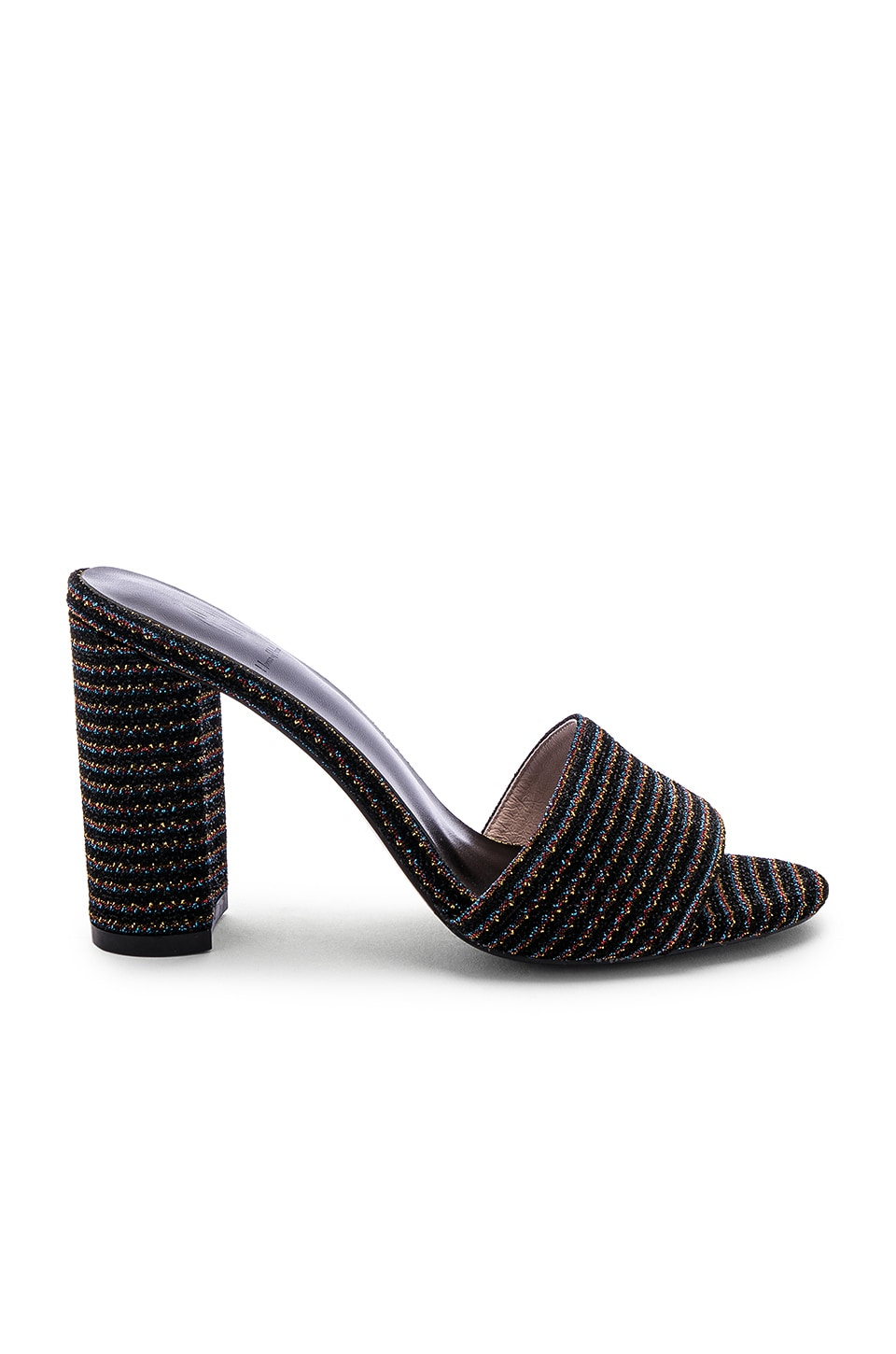 RAYE X House Of Harlow 1960 Juju Heel in Black Stripe