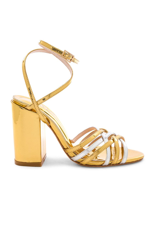 RAYE Napa Heel in Gold & Silver