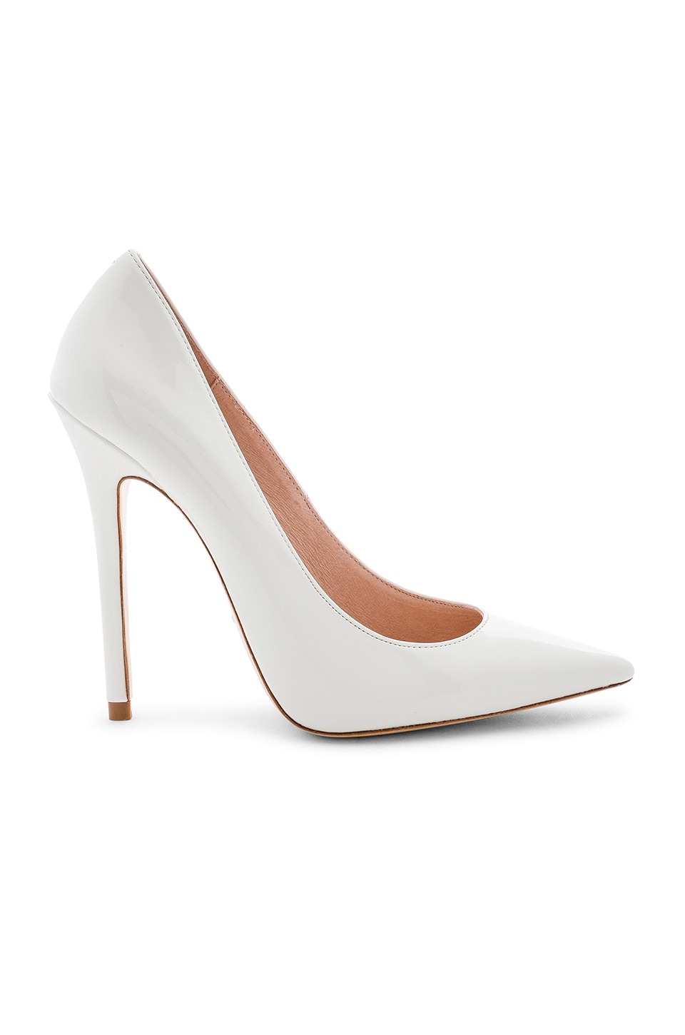 RAYE Madonna Heel in White