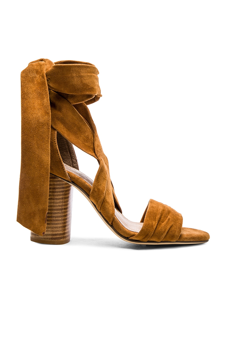 RAYE x REVOLVE Mia Heel in Whiskey