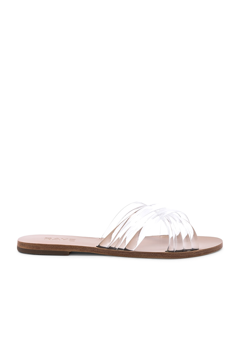 RAYE Ziggy Sandal in Clear