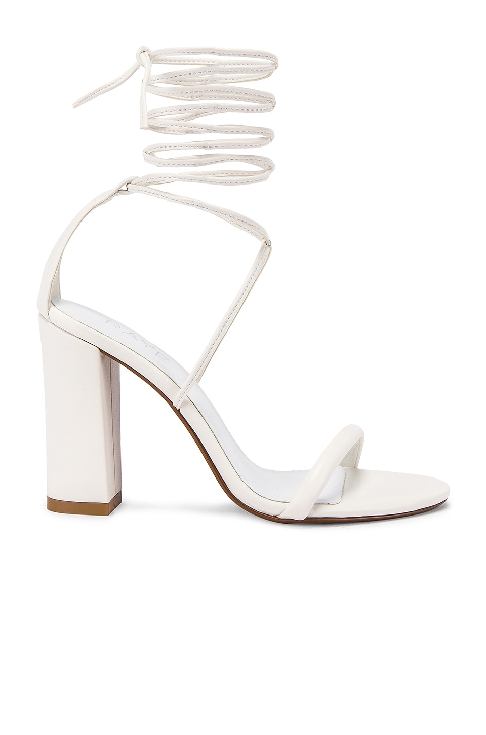RAYE Mojave Heel in White