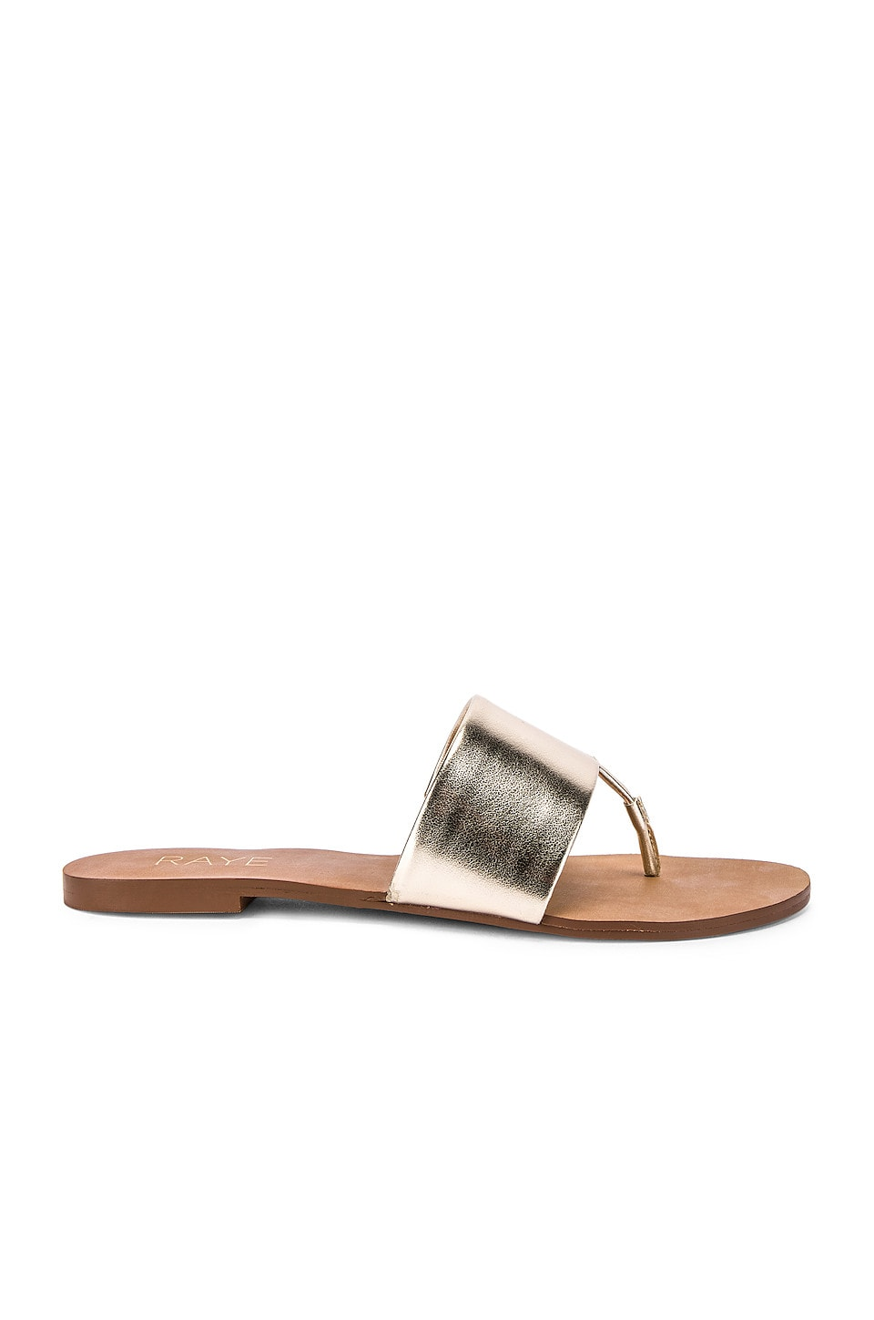 RAYE Ciudad Sandal in Pale Gold