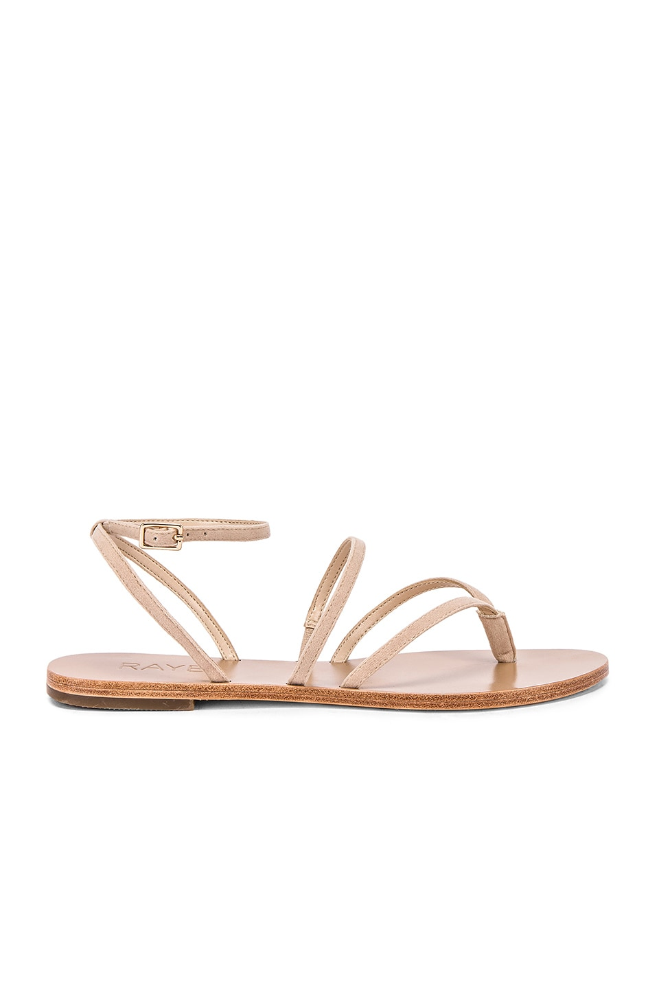 RAYE Void Sandal in Nude
