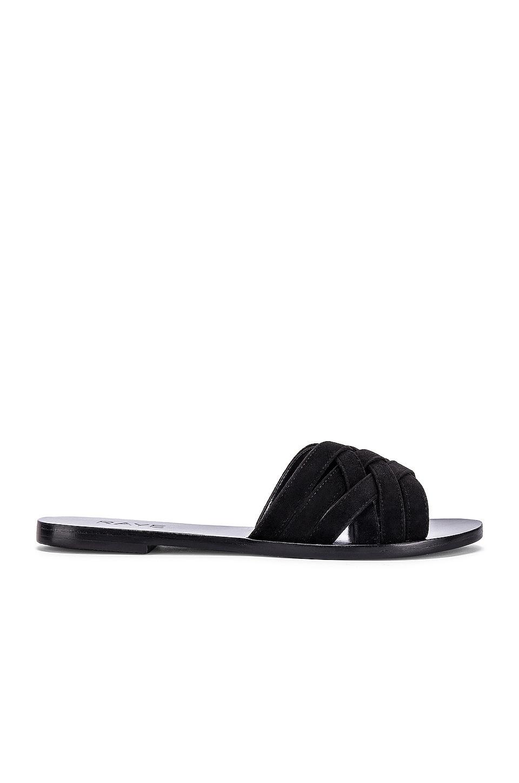 RAYE Barefoot Sandal in Black