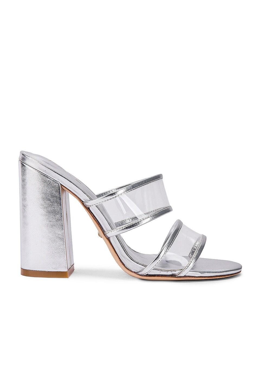 RAYE Paradise Heel in Silver