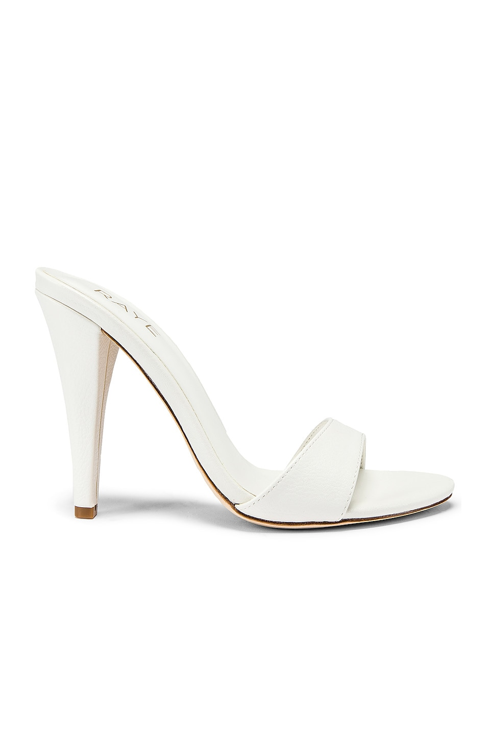 RAYE Cocktail Heel in White