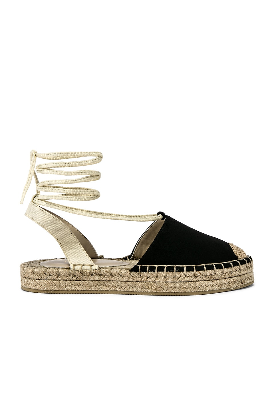 RAYE Bloom Espadrille in Black