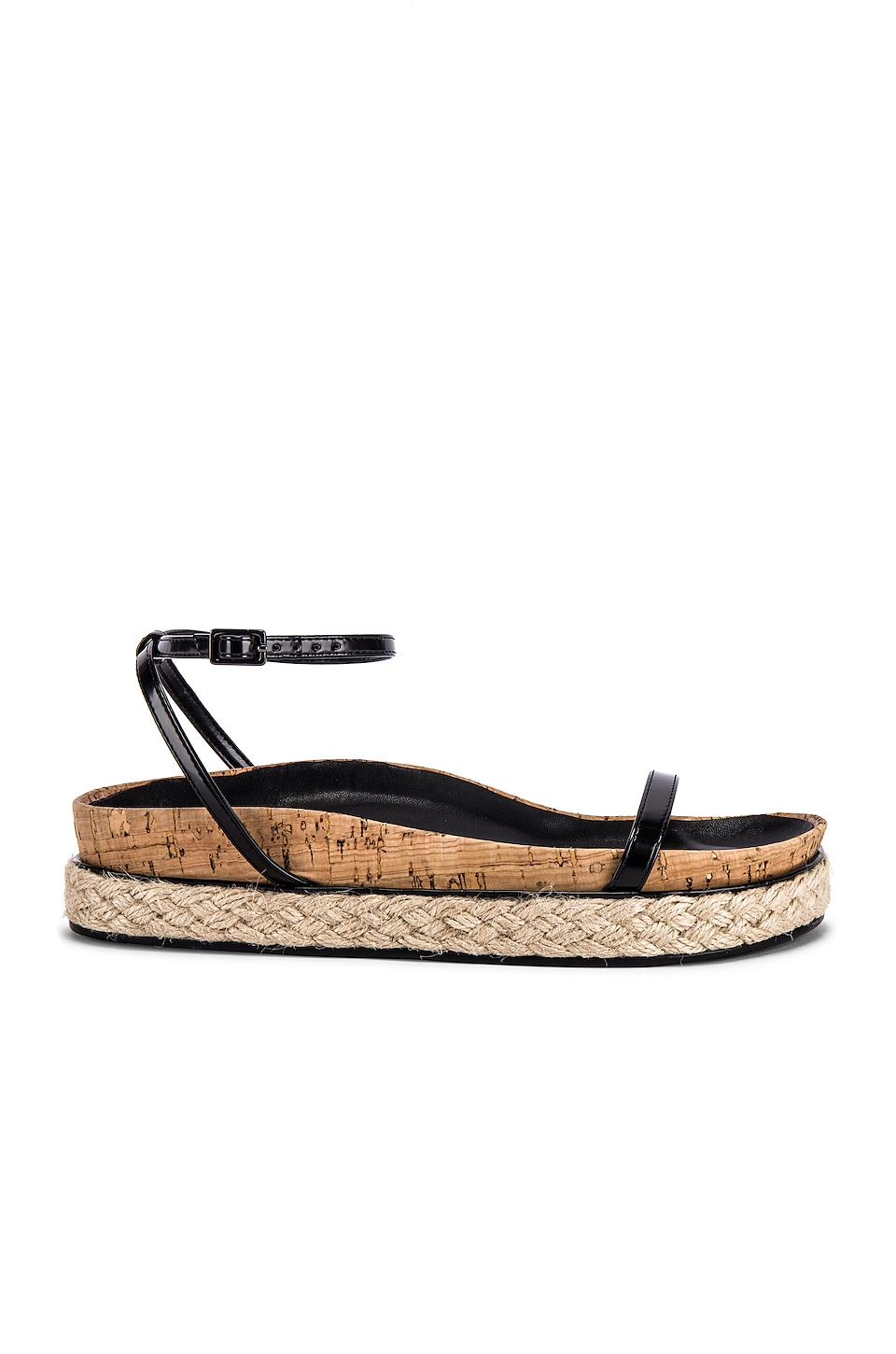 RAYE Cait Sandal in Black