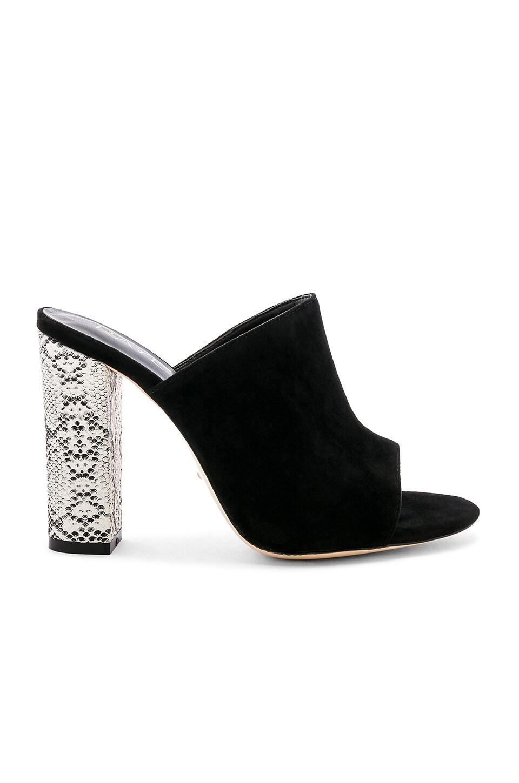 RAYE Boa Heel in Black