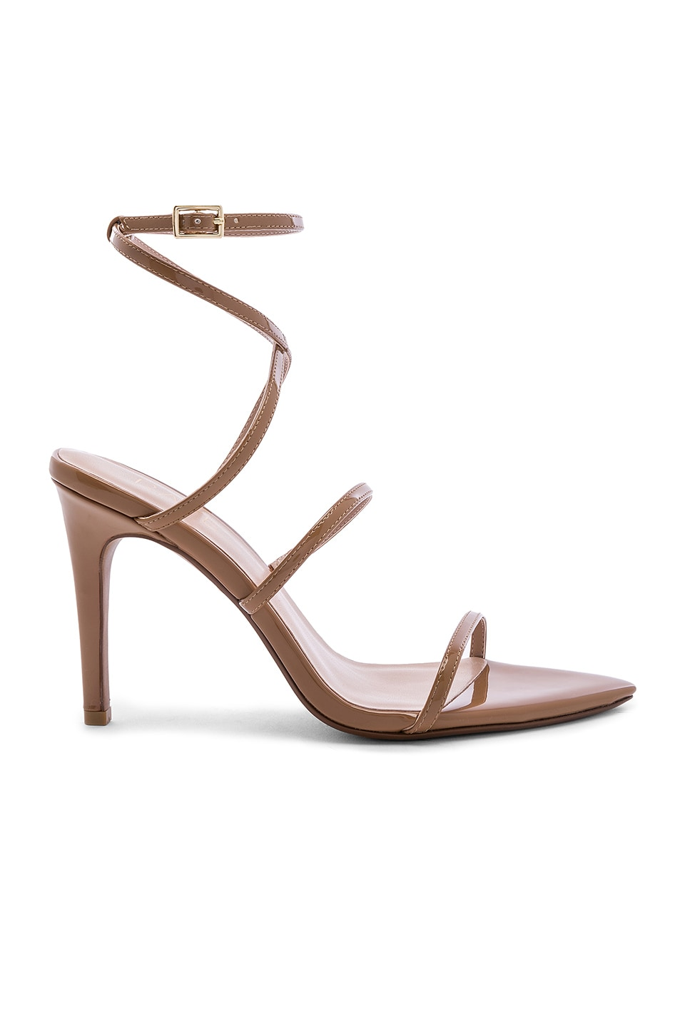 RAYE Caribbean Heel in Dark Tan