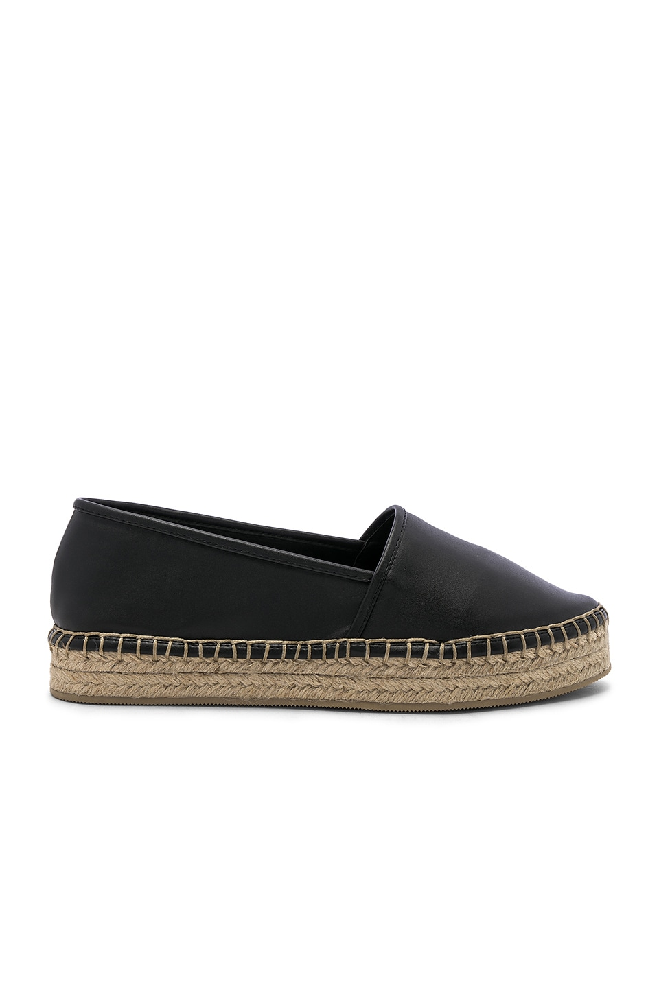 RAYE Yuma Espadrille in Black
