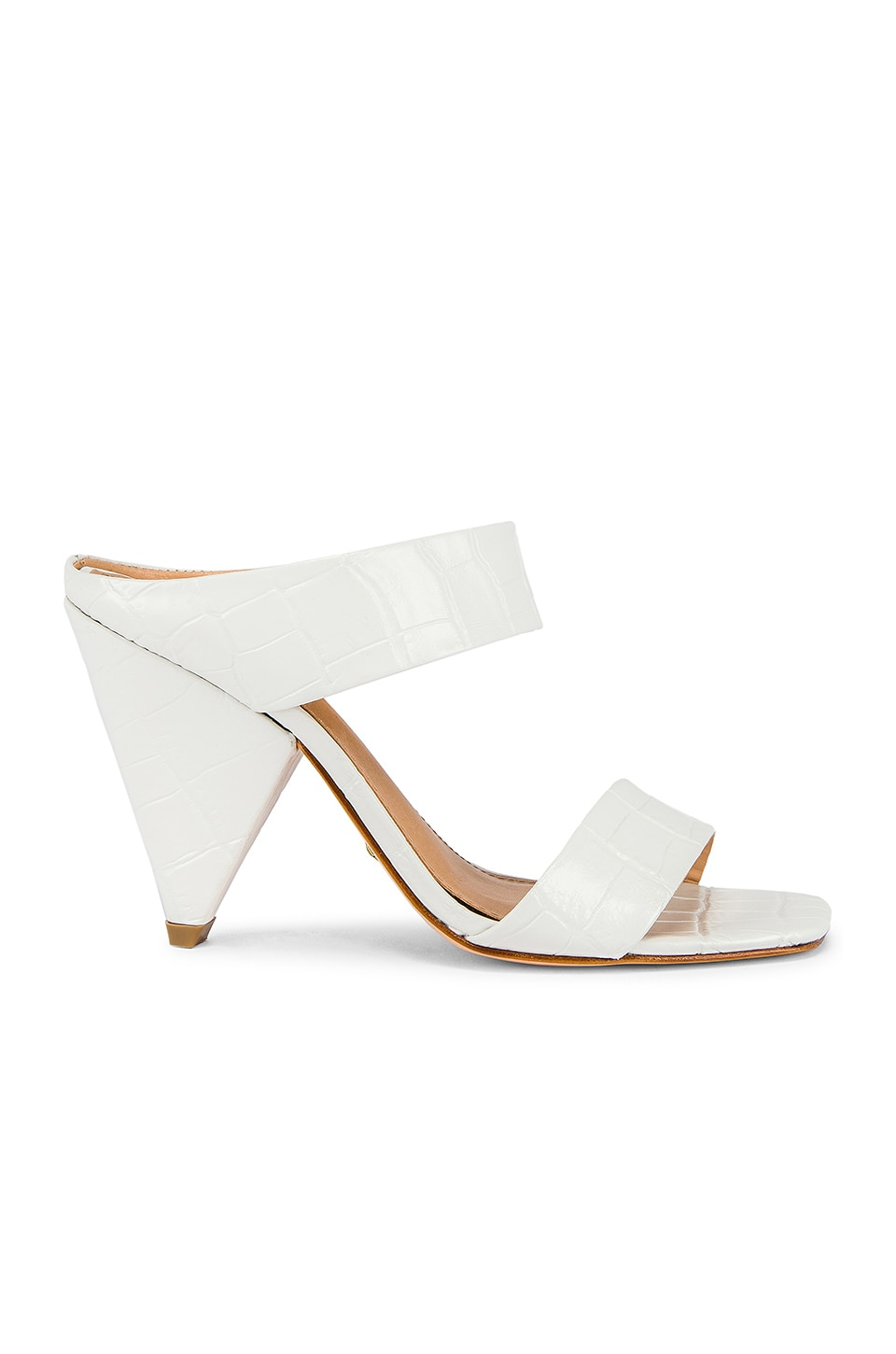RAYE Gaze Heel in White