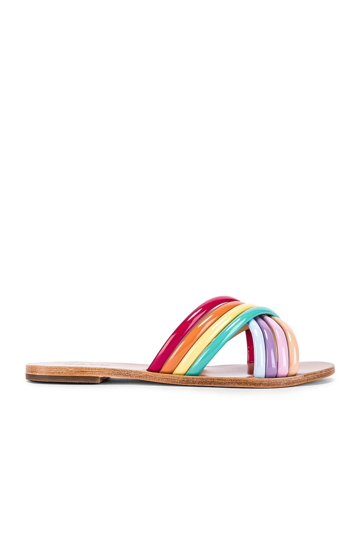 RAYE Ziggy Sandal in Pastel Multi