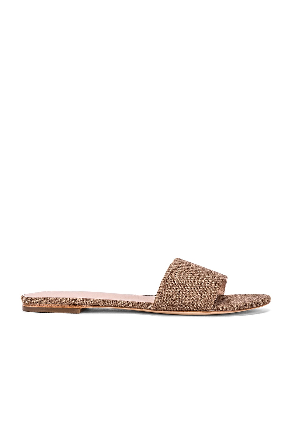 RAYE Tula Sandal in Coffee Brown